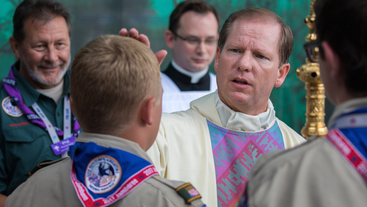 (CNS photo/Michael Roytek, courtesy Boy Scouts of America)