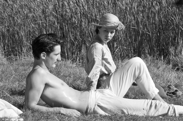 "Pierre Niney and Paula Beer in ""Frantz."" © Jean-Claude Moireau - Foz/Courtesy of Music Box Films"