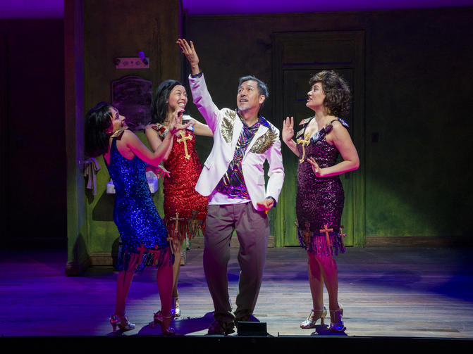 The first Filipino-American musical examines faith and