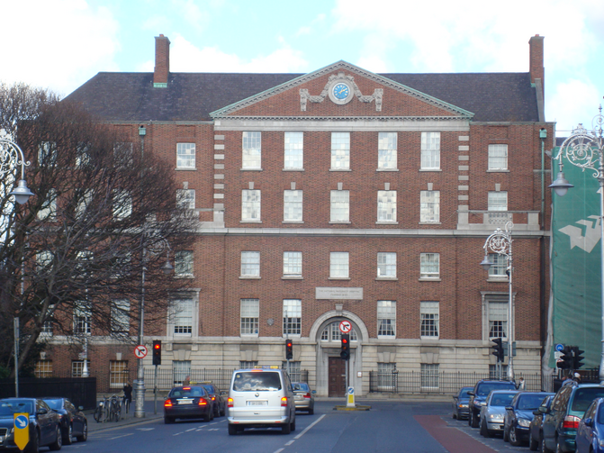 The current National Maternity Hospital, Holles Street Hospital in Dublin