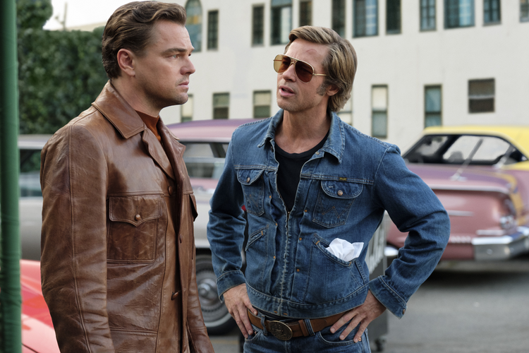 Leonardo DiCaprio and Brad Pitt at their most charismatic in Quentin Tarrantino's new film (photo: IMDB).