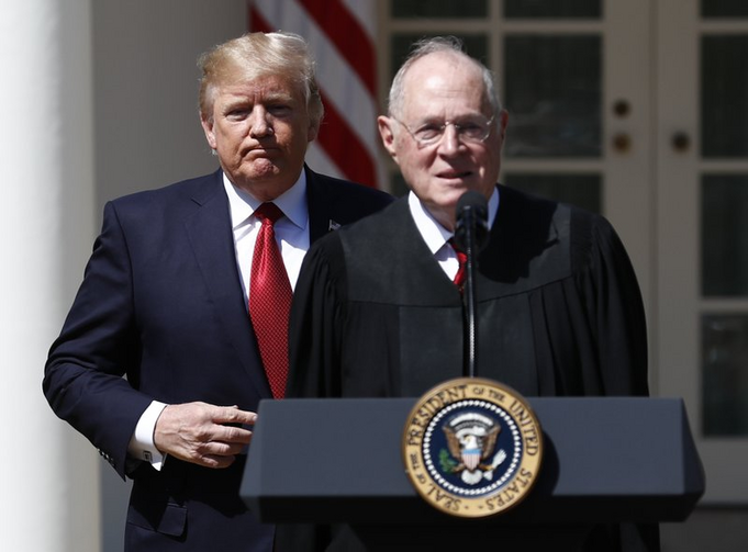 Supreme Court Justice Anthony Kennedy announced his retirement Wednesday, June 27.