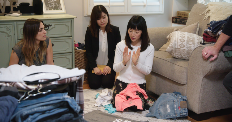 Marie Kondo's road to a tidy (and examined) life
