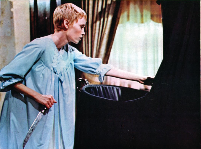 Mia Farrow in 'Rosemary's Baby' (Getty Images)