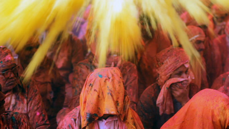 Holi, India. Photo: Argot Pictures
