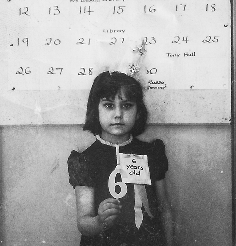 Alicia von Stamwitz at age 6 (Photo courtesy of the author)