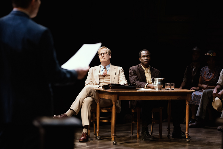Jeff Daniels in 'To Kill a Mockingbird' (photo: Julieta Cervantes)