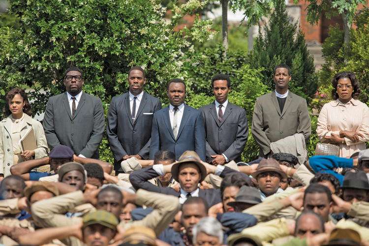 "The cast of ""Selma"""