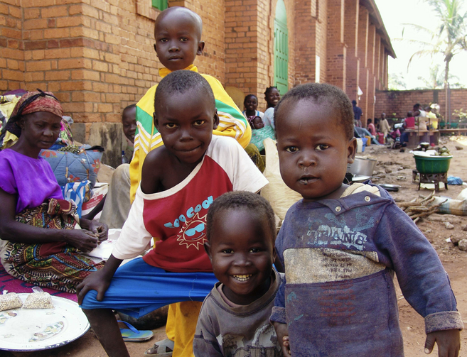 Fleeing the fighting in Bangui