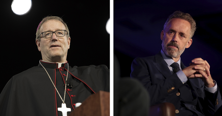 Bishop Robert Barron and Jordan Peterson
