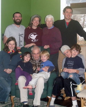 Father Dan Berrigan and his clan