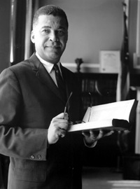 Edward W. Brooke was the first African-American attorney general in the U.S., then the first popularly elected U.S. senator.
