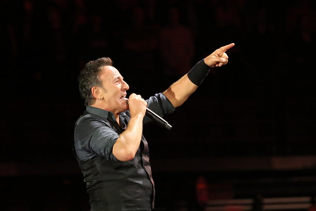 Bruce Springsteen on tour in 2012 (photo: Shayne Kaye/ Flickr)