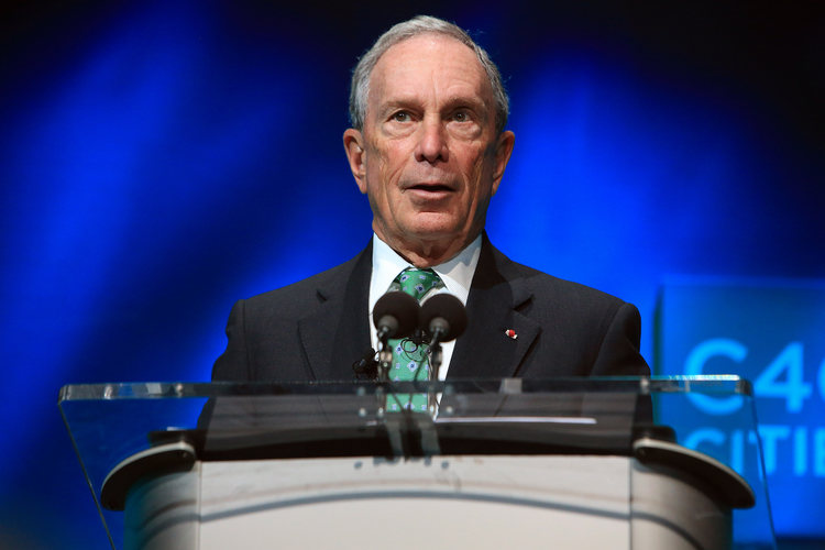Was independent Michael Bloomberg outsmarted by independent-minded Donald Trump? (AP Photo/Thibault Camus, File)