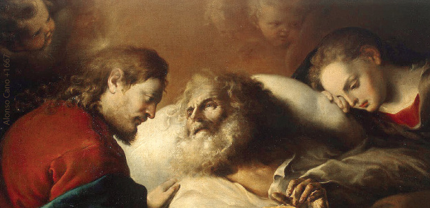 The Death of Saint Joseph by Alonso Cano