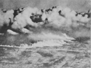 The Gas Cloud at Ypres 1915