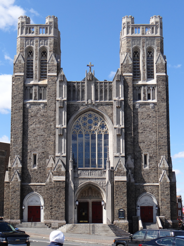 St. Nicholas of Tolentine Church, University Avenue, the Bronx--where a little boy learned about Ash Wednesday