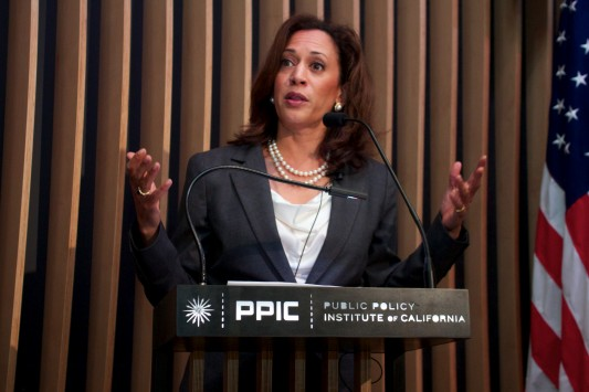 California Attorney General Kamala Harris will find it easier to raise money without real competition. (Image from Attorney General's Office website)