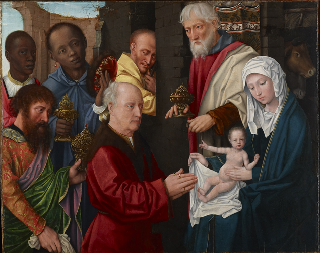 Adoration of the Magi, c. 1514