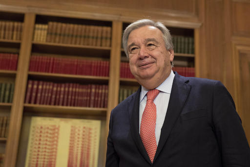 Antonio Guterres (AP Photo/Petros Giannakouris)