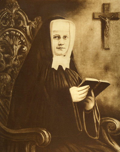 Sister Miriam Teresa Demjanovich, a Sister of Charity who died at age 26 in 1927, the first American to be beatified in the United States. (CNS photo/courtesy of Sisters of Charity of St. Elizabeth)
