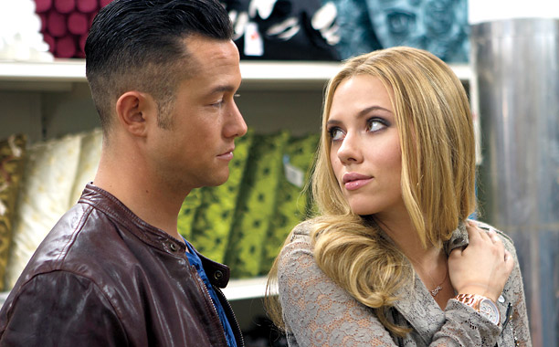 Joseph Gordon Levitt and Scarlett Johansson in 'Don Jon'