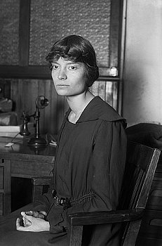 Dorothy Day, American journalist, social activist and Catholic convert. c. 1916. Courtesy of Wikimedia Commons.