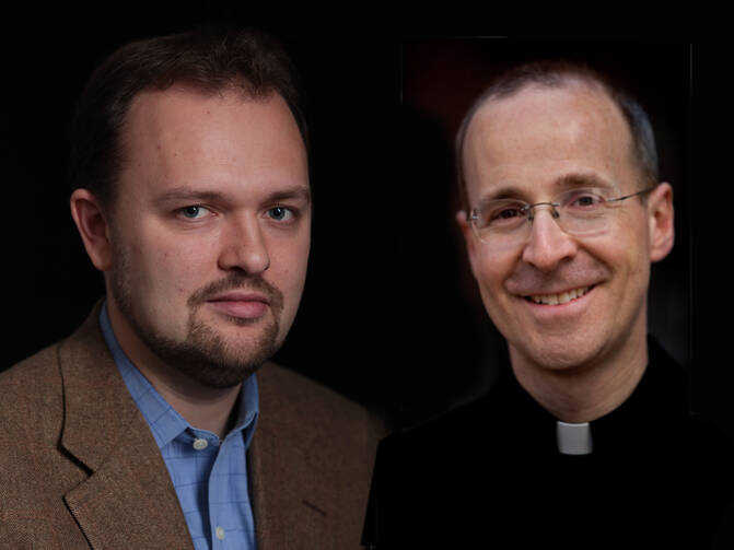 Ross Douthat and James Martin, S.J.