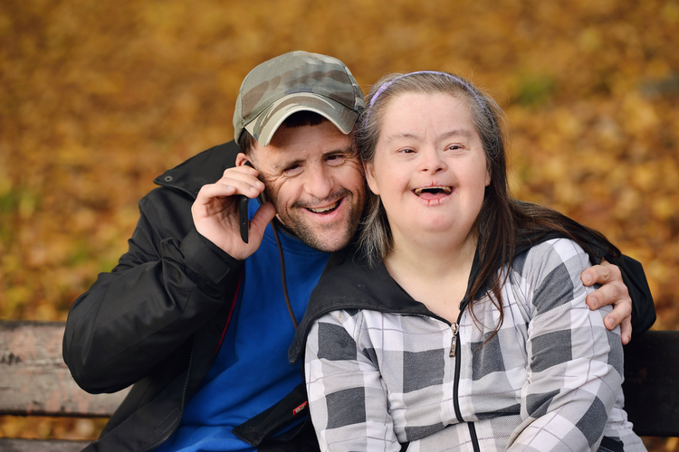 "People with Down syndrome are actually happier than those who are ""normal."""