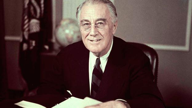 Franklin Delano Roosevelt, 32nd President of the United States, 1882-1945