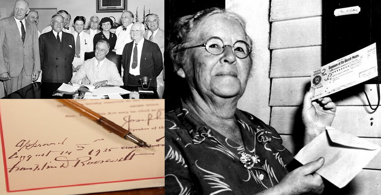 FDR, the Social Security Act, and Miss Ida May Fuller