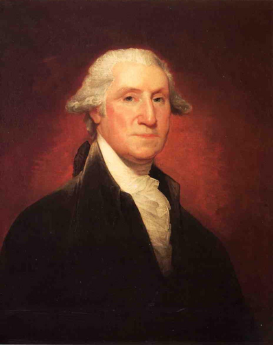George Washington, First President of the United States, Born February 22, 1732, Died December 14, 1799