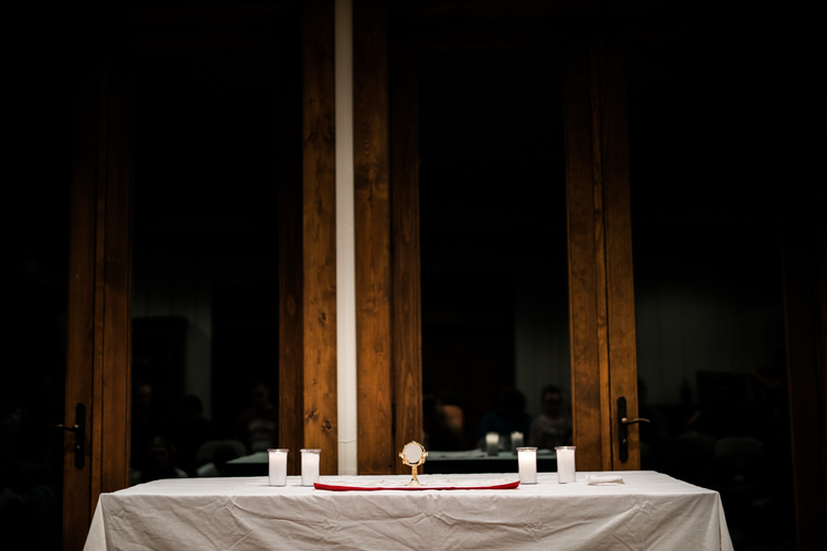 How has the Eucharist transformed your life?