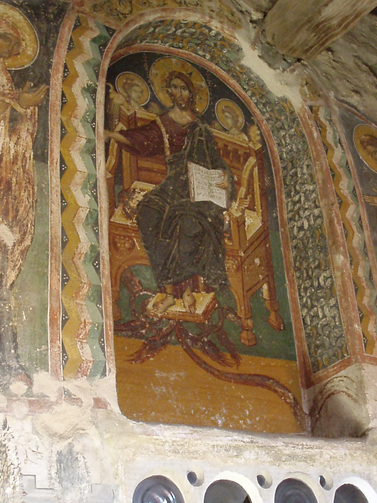 Christ Pantocrator, January 5, 2006, Meterora Monstery, Greece. John W. Martens