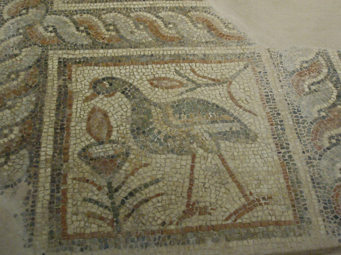 """Christ our Pelican"" Byzantine Museum, Thessaloniki, Greece. Photo taken by John Martens, January 2006."