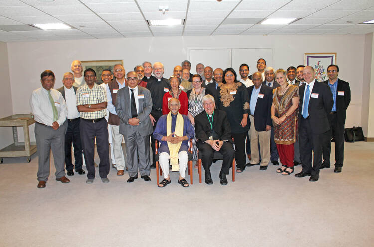 Hindus and Catholics together in Washington, D.C.