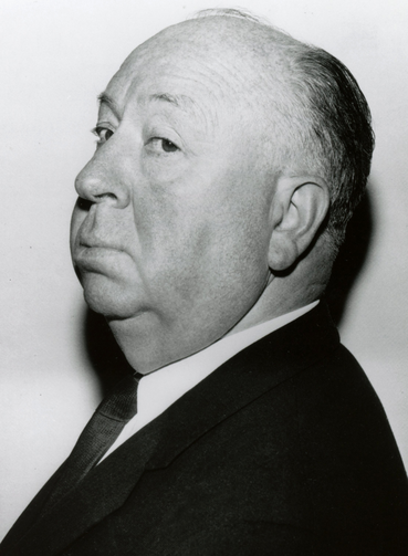 Famed film director Alfred Hitchcock in an undated NBC publicity still (CNS file photo)