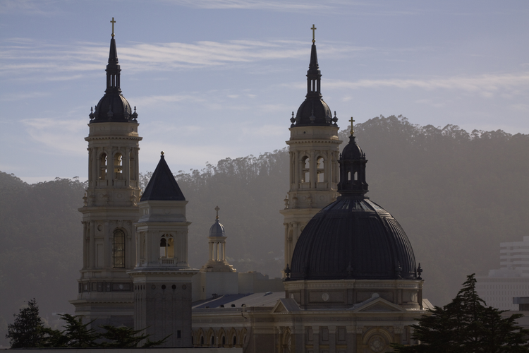 St. Ignatius Church, on the campus of the University of San Francisco (iStock/Bakstad)