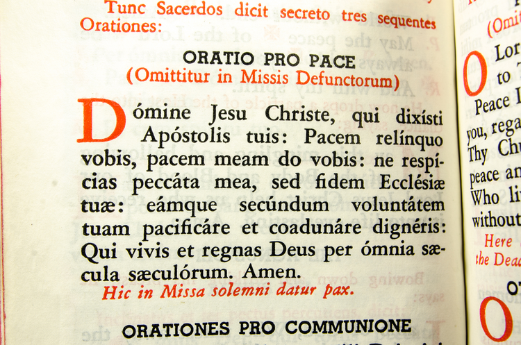 Detail from a Latin Missal (iStock/wwing)