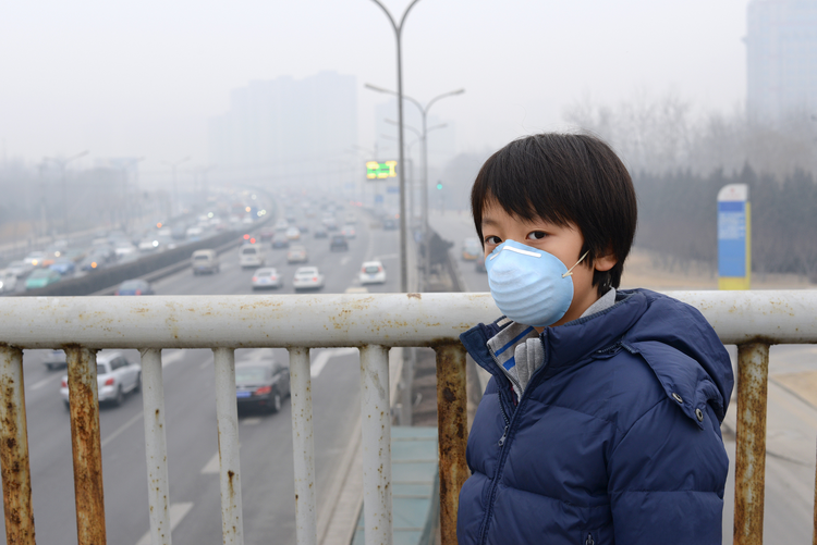 Humans have dramatically affected the climate, causing unbearable pollution in cities such as Beijing. (iStock/Hung Chung Chih)