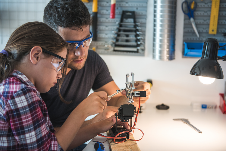 Programs in electricity, plumbing and other practical skills can allow students to get high-paying jobs immediately after high school graduation. In some cases, they earn enough to return to school. (iStock/Georgijevic)