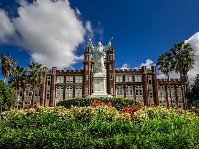 Loyola University New Orleans is one of several Catholic colleges facing what they hope are temporary budgetary challenges. (iStock/Gregory Kurpiel)