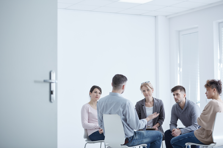 Group therapy is a common form of treatment for PTSD and may help sexual abuse survivors find support networks. (iStock/KatarzynaBialasiewicz)