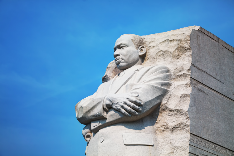 The Martin Luther King Jr. Memorial in Washington, D.C. (iStock/AndreyKrav)