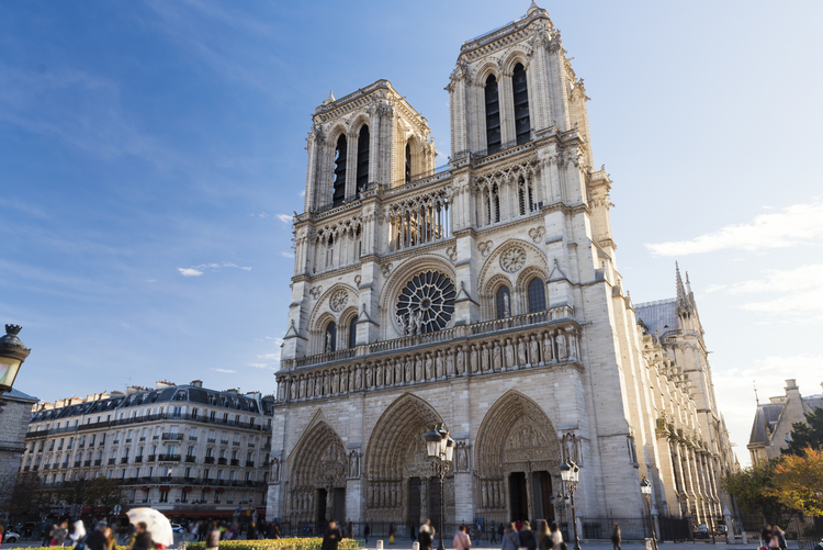 Paris' Notre Dame Cathedral is on fire