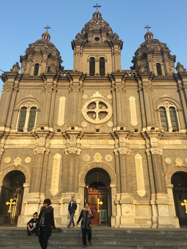 St. Joseph's, also known as East Church, is one of the few Catholic churches in Beijing.