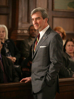 "Does ""Law & Order"" prosecutor Jack McCoy know that crime is down?"