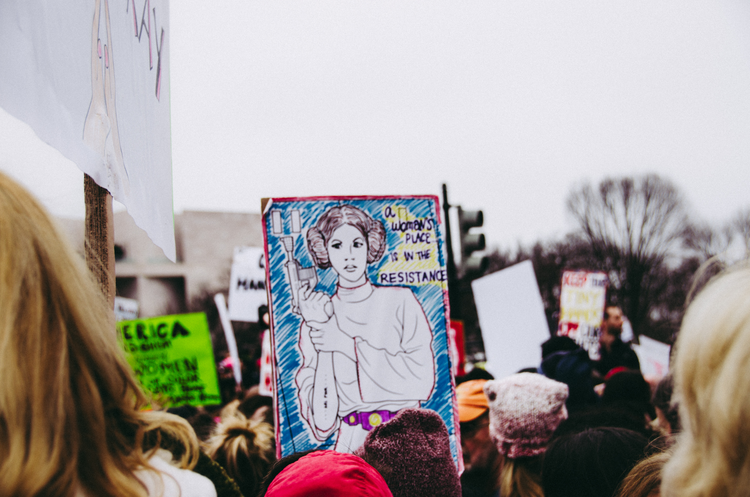 The 2017 Women's March in Washington D.C. (Jerry Kiesewetter/Unsplash)