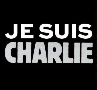 "Social media users showed support for the victims and free speech with the hashtag #jesuischarlie, which translates ""I am Charlie."""
