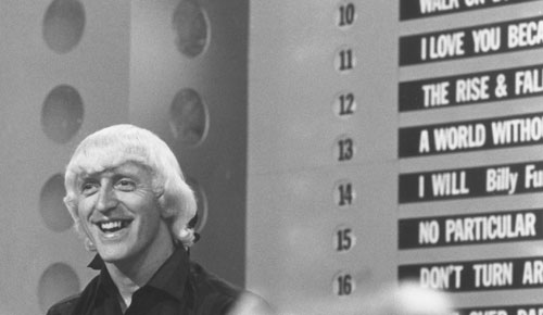 Savile on Tops of the Pops in 1964. The first allegations against him, like Bill Cosby, surfaced decades ago but did not lead to meaningful investigations.